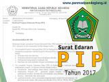 Surat Edaran PIP 2017